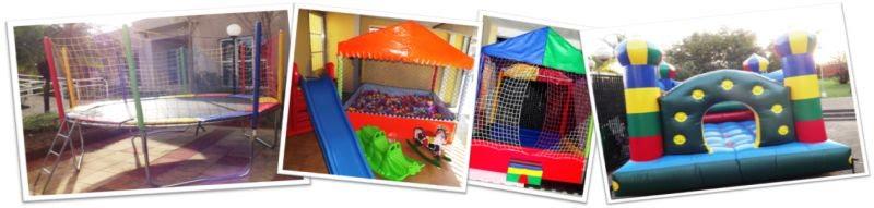 Locação de Brinquedos - Piscina de Bolinhas, Cama Elástica e Pula-Pula